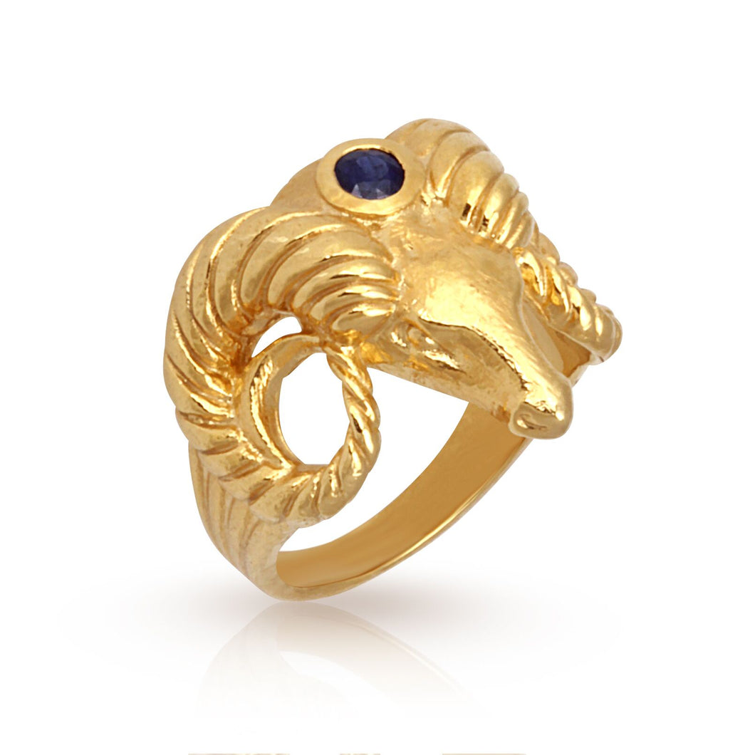 Temple of the Sun Helle Ring Gold