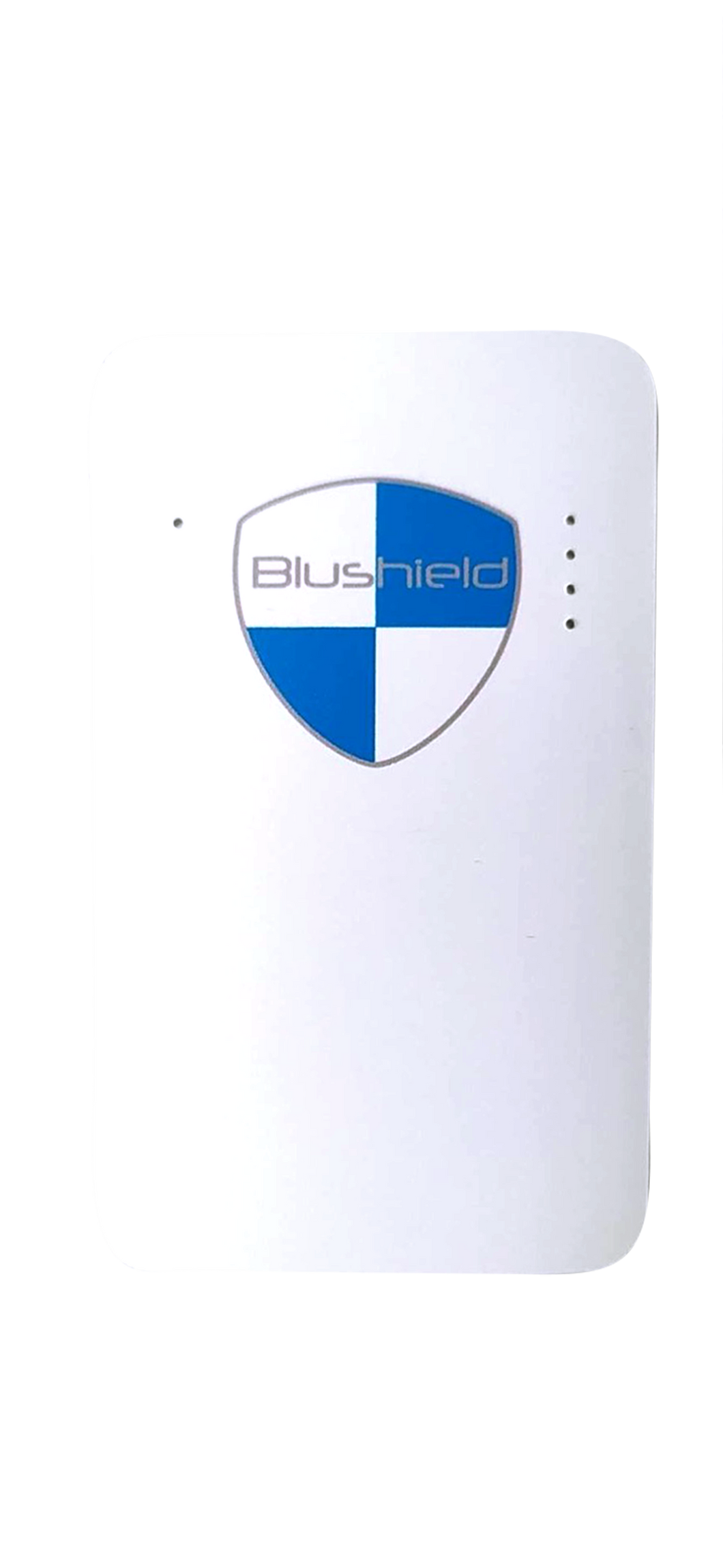 BLU SHIELD Tesla Gold Series White Portable