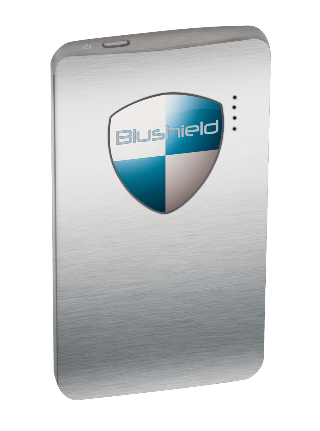 BLU SHIELD Tesla Gold Large NEW MODEL Chrome Portable