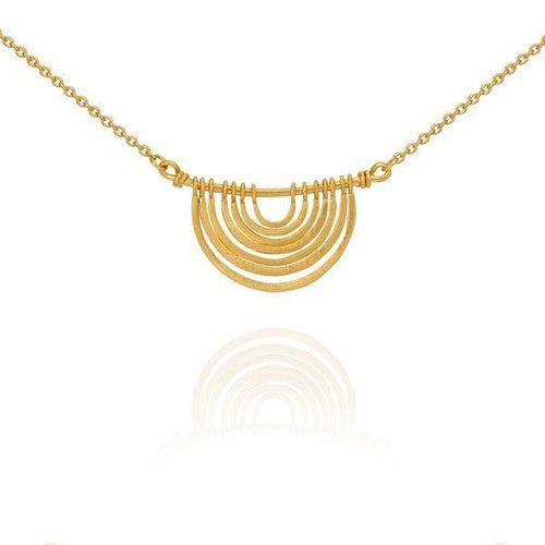 Temple of the Sun Baye necklace gold
