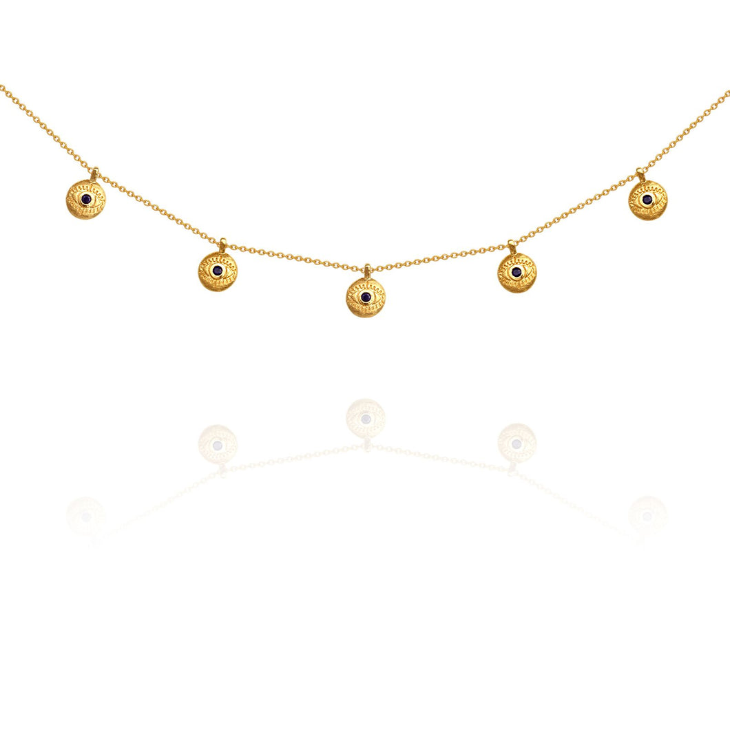 Temple of the Sun Blessing necklace gold
