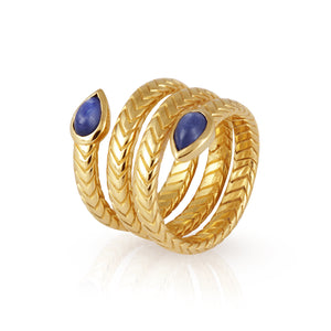 Temple Of The Sun Metis Ring Gold