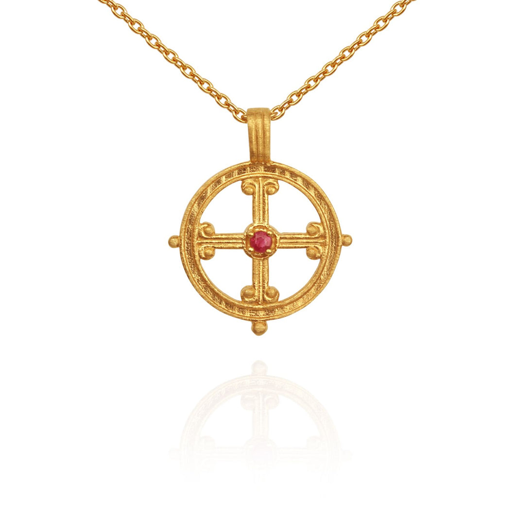 Temple of the Sun Vera necklace gold
