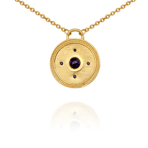 Temple Of The Sun Daena Necklace Gold