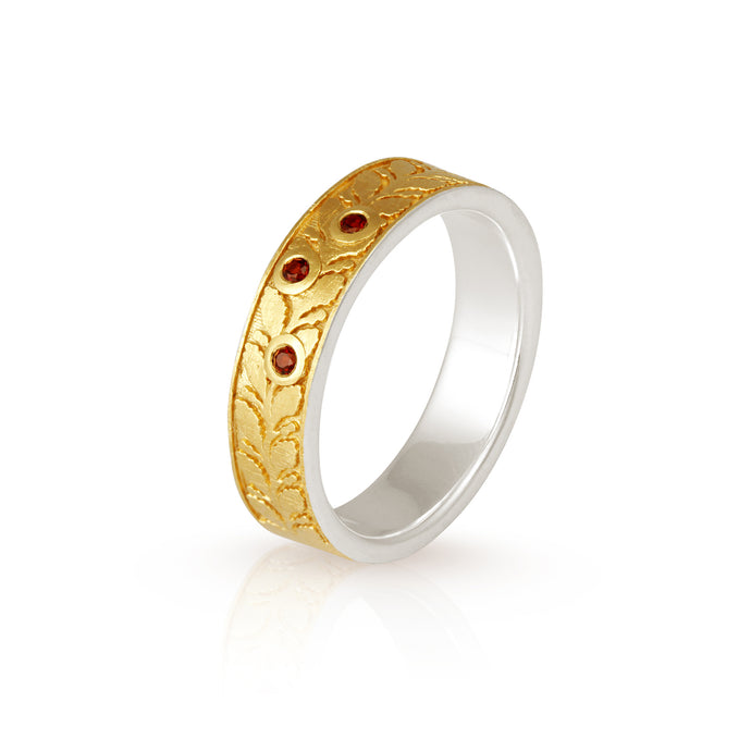 Temple Of The Sun Lynx Ring Gold