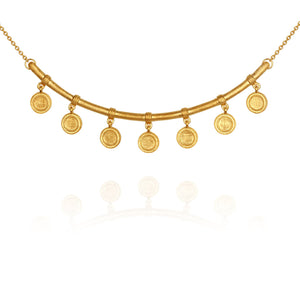 Temple of the Sun Hana necklace gold