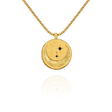 Temple of the Sun Celeste Necklace Gold