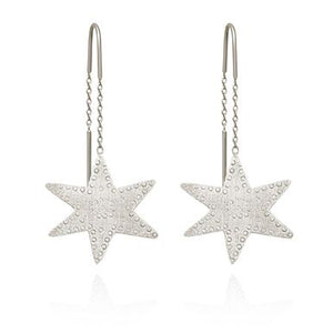 Temple of the Sun Astra earrings silver
