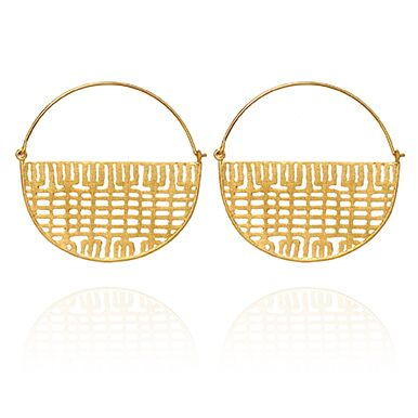 Temple of the Sun Lulu earrings gold