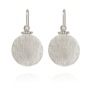 Temple of the Sun Rei earrings silver