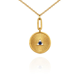 Temple of the Sun Estelle necklace gold