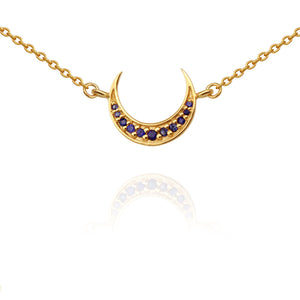 Temple Of The Sun Aylin Necklace Gold