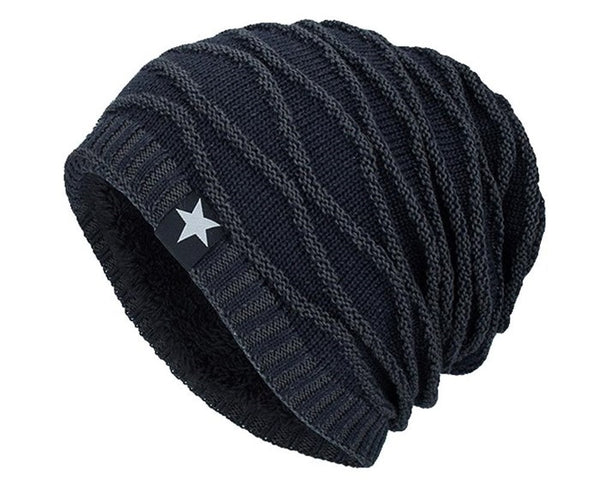 textured outdoor beanie