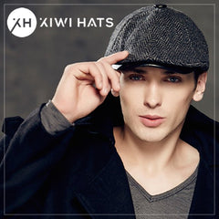 Newsboy caps are back in style in a big way. This cool-hat is the perfect  option for guys who love to accessorize without being too flashy. 428c13bba944
