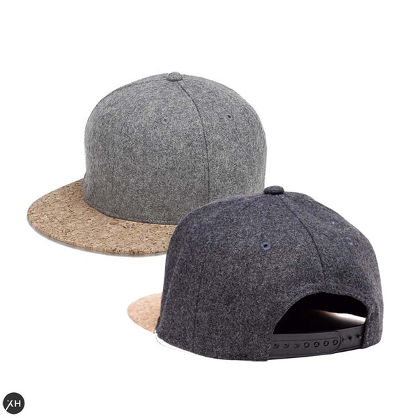 two toned textured snapback