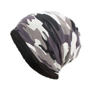 Camouflage Fur-Lined Beanie - Fashion Hat By Kiwi Hats