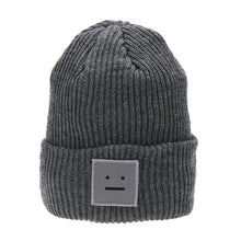 Straight Face Emoji Winter Ski Beanie - Fashion Hat By Kiwi Hats