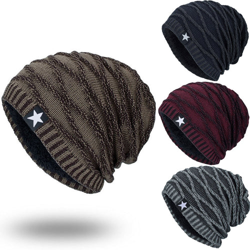 Textured Knit Oversized Beanie - Fashion Hat By Kiwi Hats