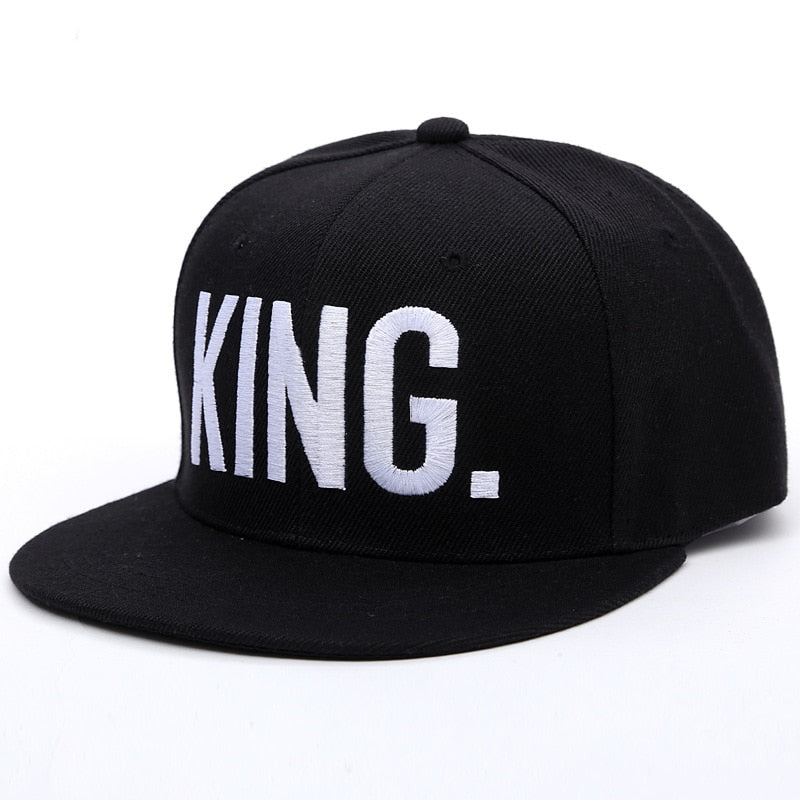 KING Embroidered Slogan Cap or Beanie - Fashion Hat By Kiwi Hats