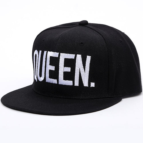 Queen Slogan Embroidered Cap - Fashion Hat By Kiwi Hats