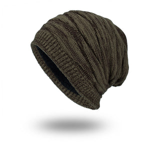 Solid Colored Textured Pattern Beanie - Fashion Hat By Kiwi Hats