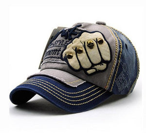 Studded Knuckle Printed Textured Snapback - Fashion Hat By Kiwi Hats