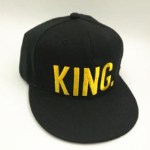 KING Embroidered Slogan Cap - Fashion Hat By Kiwi Hats