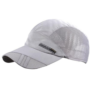 Breathable Mesh Sports Hat - Fashion Hat By Kiwi Hats