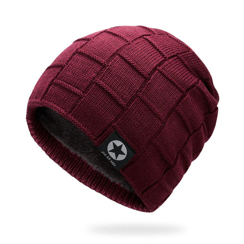 Square Knit Winter Beanie - Fashion Hat By Kiwi Hats