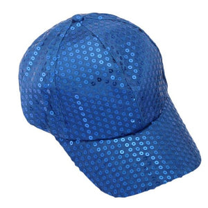 All-Over Sequin Adorned Colorful Snapback - Fashion Hat By Kiwi Hats