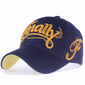 Front Contrast Letter Embroidered Snapback - Fashion Hat By Kiwi Hats