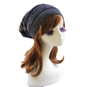 Knitted Baggy Oversized Ski Cap - Fashion Hat By Kiwi Hats
