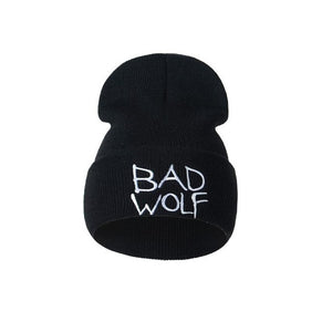Doctor Who Bad Wolf  Embroidered Beanie - Fashion Hat By Kiwi Hats