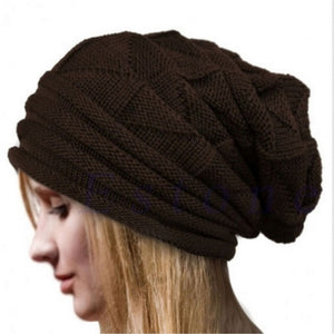 Oversized Knitted Wool Beanie - Fashion Hat By Kiwi Hats