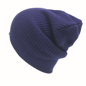 Classic Baggy Fit Knit Beanie - Fashion Hat By Kiwi Hats