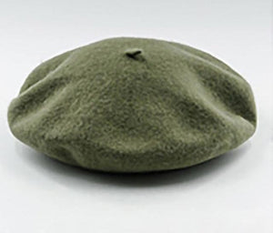 Elegant Wool Beret - Fashion Hat By Kiwi Hats