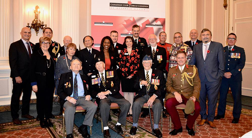 November 6, 2018 - Lunch with Extraordinary Veterans