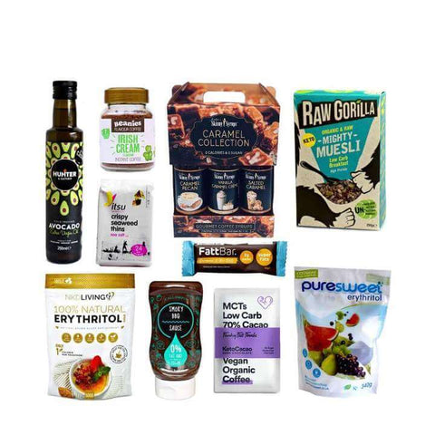 low cab high fat keto products