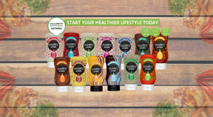 Callowfit sauce - sugar free sauces and dressings gluten free.