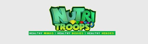 sweet victory products are friends of: Nutri-Troops healthy sports curriculum for kids and schools