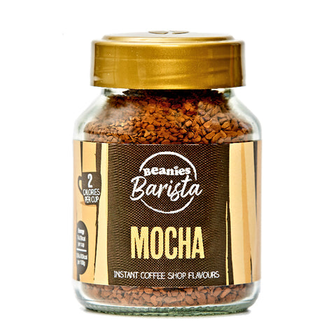 Beanies Barista Coffee - Mocha Flavour 50g - Sweet Victory Products Ltd