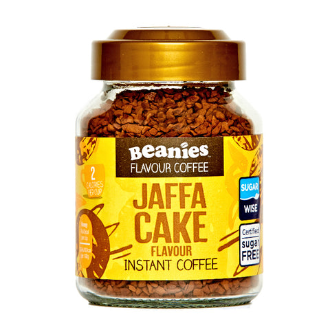 Beanies Coffee Jaffa Cake Flavour 50g - Sweet Victory Products Ltd