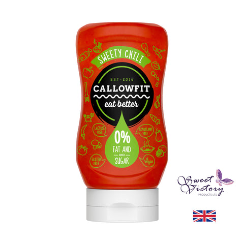 Callowfit Sweety Chili Sugar Free Vegan Sauce 300ml - Sweet Victory Products