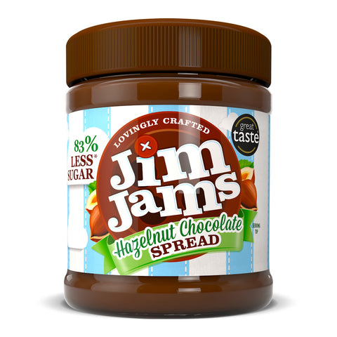 JimJams No Added Sugar Hazelnut Chocolate Spread 350g - Sweet Victory Products Ltd