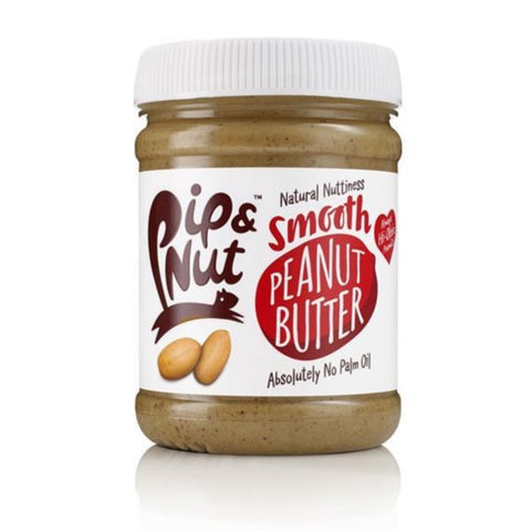 Pip and Nut Smooth Peanut Butter Jar 225g - Sweet Victory Products Ltd