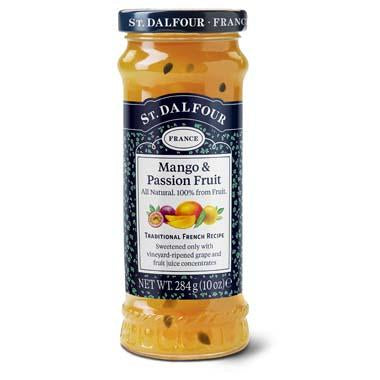 St. Dalfour Mago and Passonfruit Preserve Preserve No Added Sugar Jam - Sweet Victory Products Ltd
