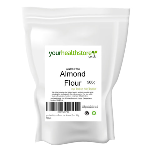 Your Health Store Almond Flour 500g - Sweet Victory Products Ltd