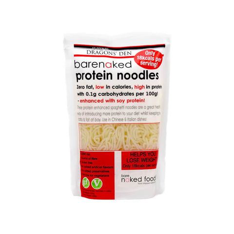 Barenaked Protein Low Calorie Gluten Free Noodles - Sweet Victory Products Ltd