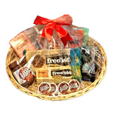 Luxury No Added Sugar Chocolate Gift Basket Hamper - Sweet Victory Products