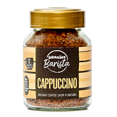 Beanies Coffee Barista Cappuccino Flavour 50g - Sweet Victory Products Ltd